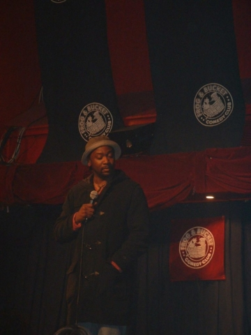 Reginald D Hunter performs at The Frog and Bucket!