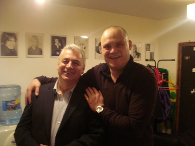 Al Murray the Pub Landlord meets David The Frog Landlord! 2011