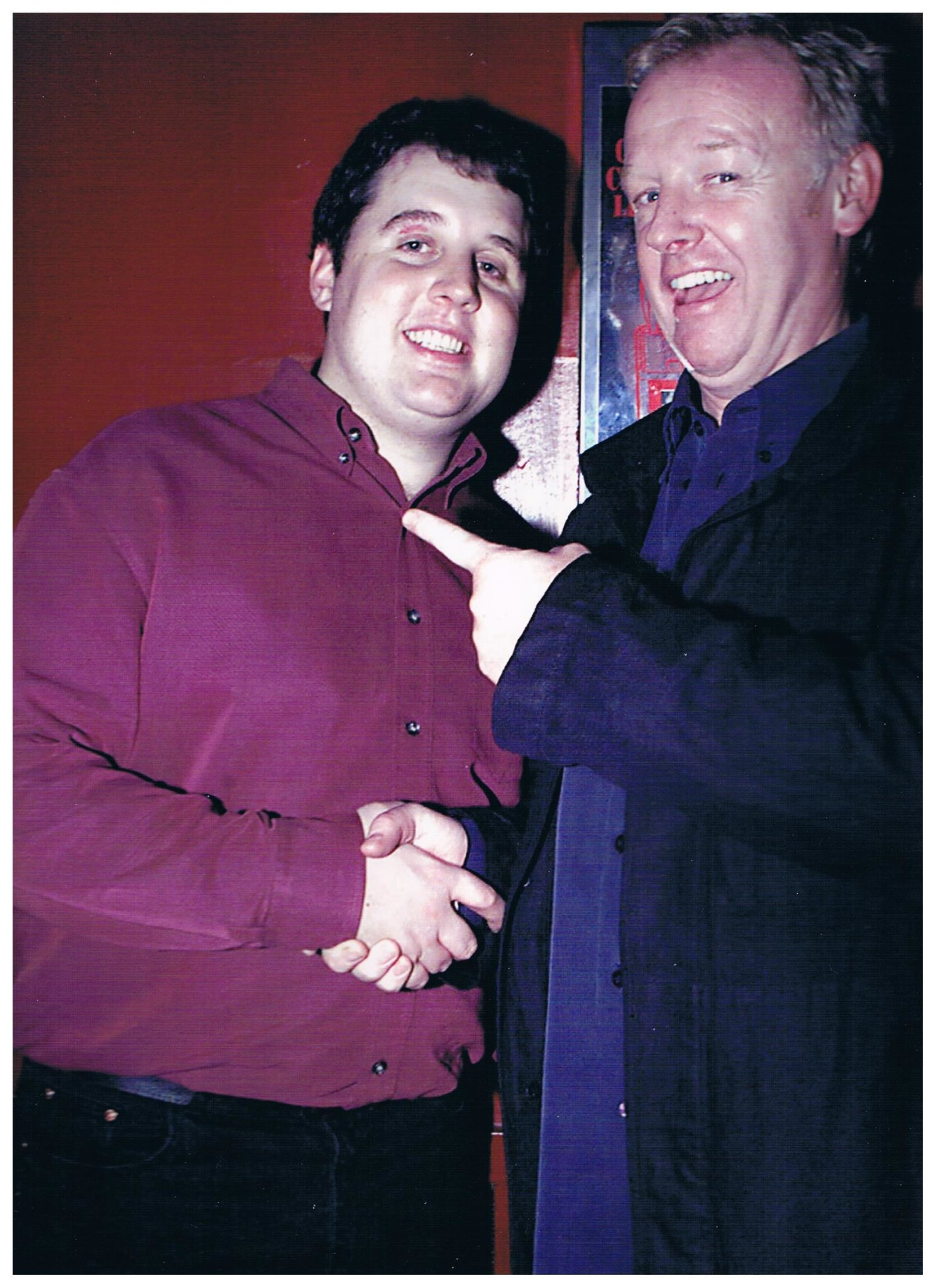 Les Dennis and Peter Kay at The Frog and Bucket!