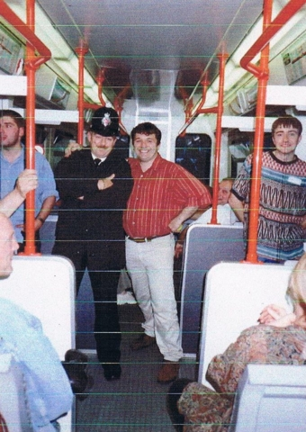 Smug Roberts 1995 takes everyone on a tram ride