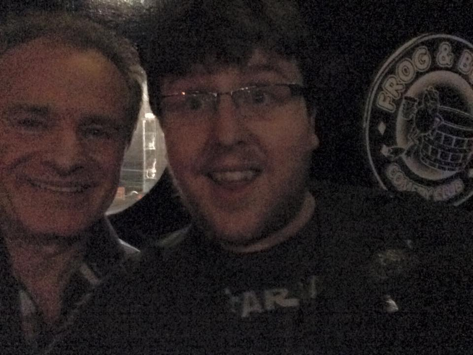 Bobby Davro and Tom Short