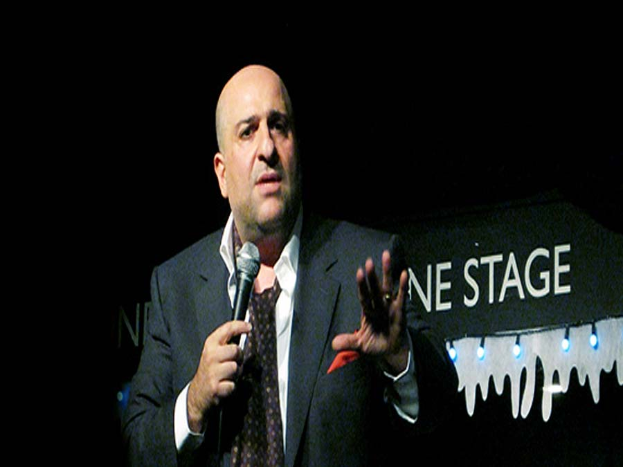 Omid Djalili Performs at The Frog and Bucket in 2013