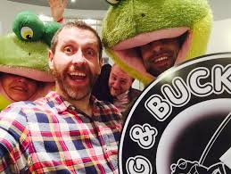 Dave Gorman and Norman The Frog 2015